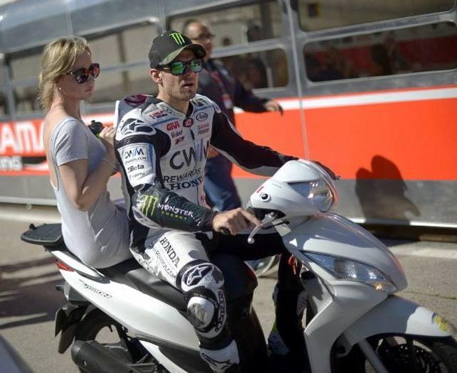 Honda Spacy 2015 - Carl Crutchlow