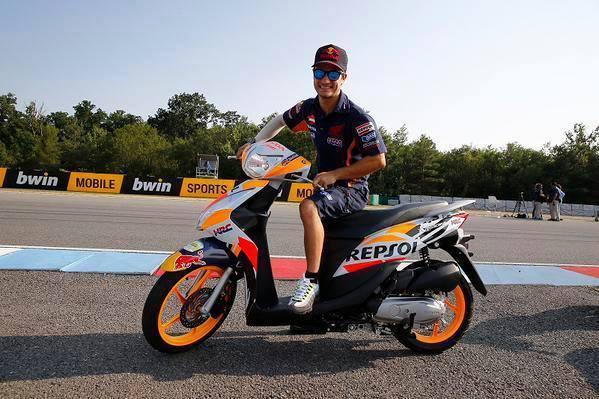 Honda Spacy 2015 - Marc Marquez