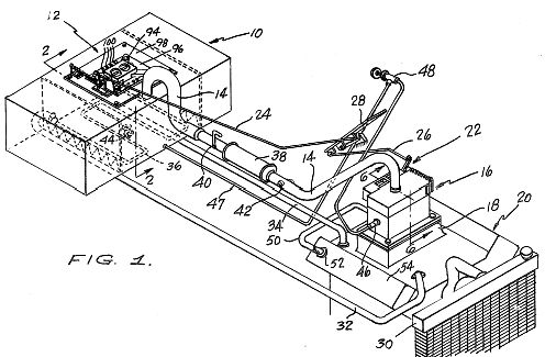 Tom Ogle - Ogle Carburetor - Vapor Carburetor Patent