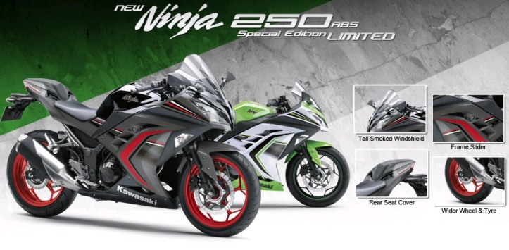 Ninja 250 Special Edition Limited