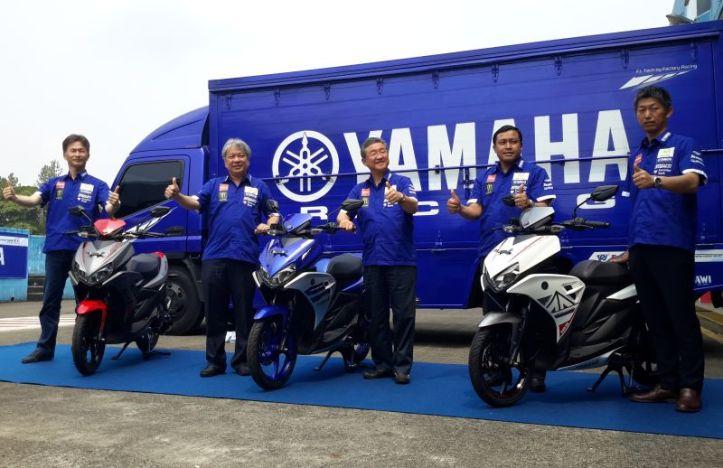 Yamaha Aerox 125 Rilis