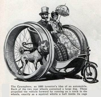 Cynosphere - Dog Powered Bycyle