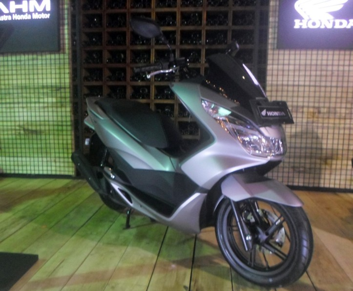 New Honda PCX150 2016 Sophisticated Matte Silver