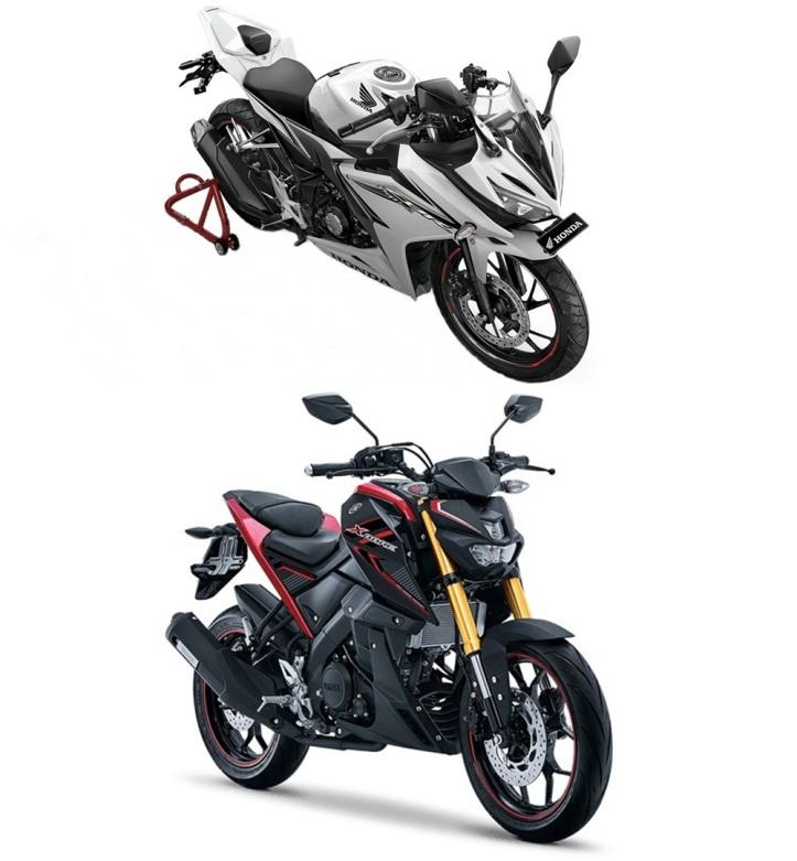 All New CBR150R K45G Facelift vs Yamaha Xabre