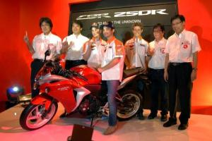 Honda CBR250R Rilis 2011