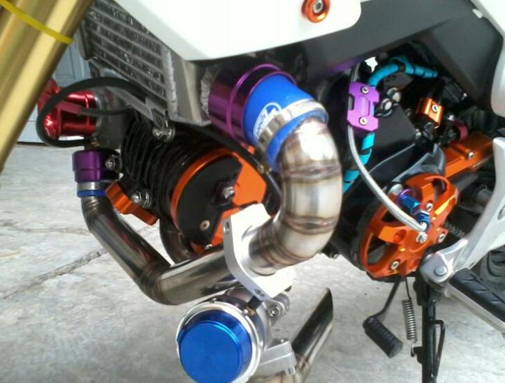 Honda MSX125 Turbocharger
