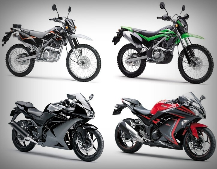 Kawasaki KLX150 & Ninja 250