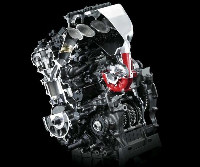 Kawasaki Ninja H2 Supercharger