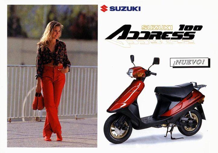 Suzuki Address 1994
