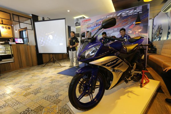 Yamaha YZF R15 Warna Baru 2016 - Racing Blue