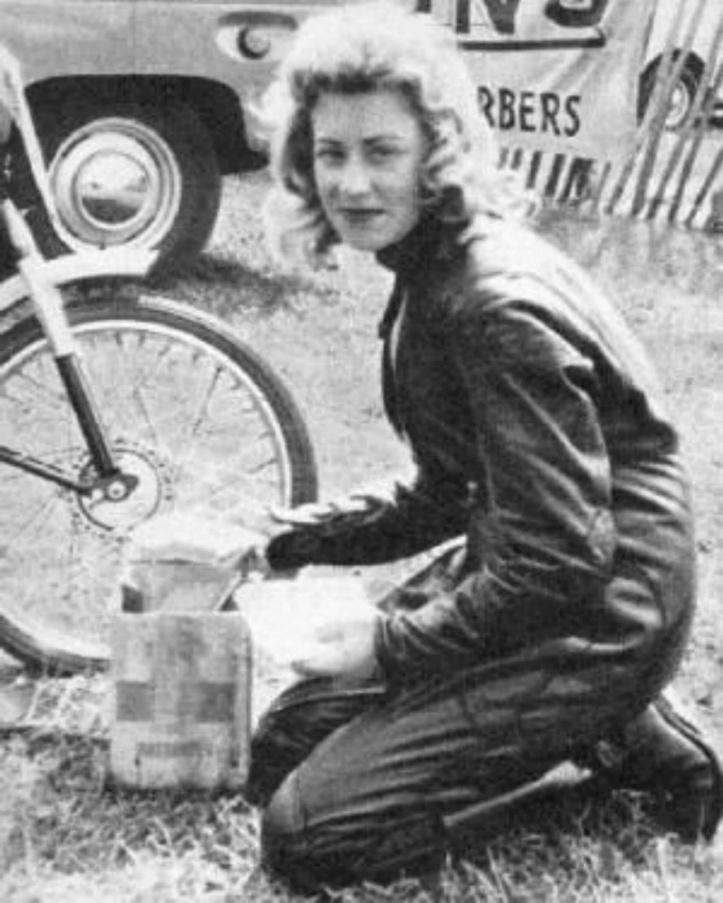 Beryl Swain TT Racer