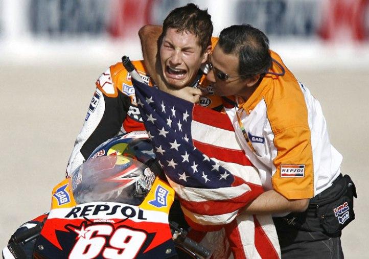 Nicky Hayden Victory