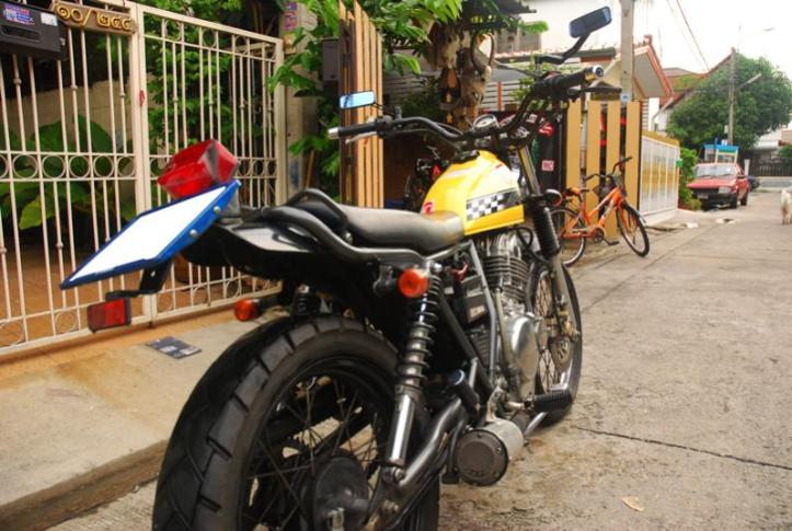 Suzuki TU250GB 3