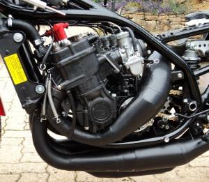 Yamaha TZ750 Engine