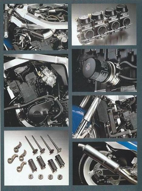 Suzuki GSX-R 400 Engine