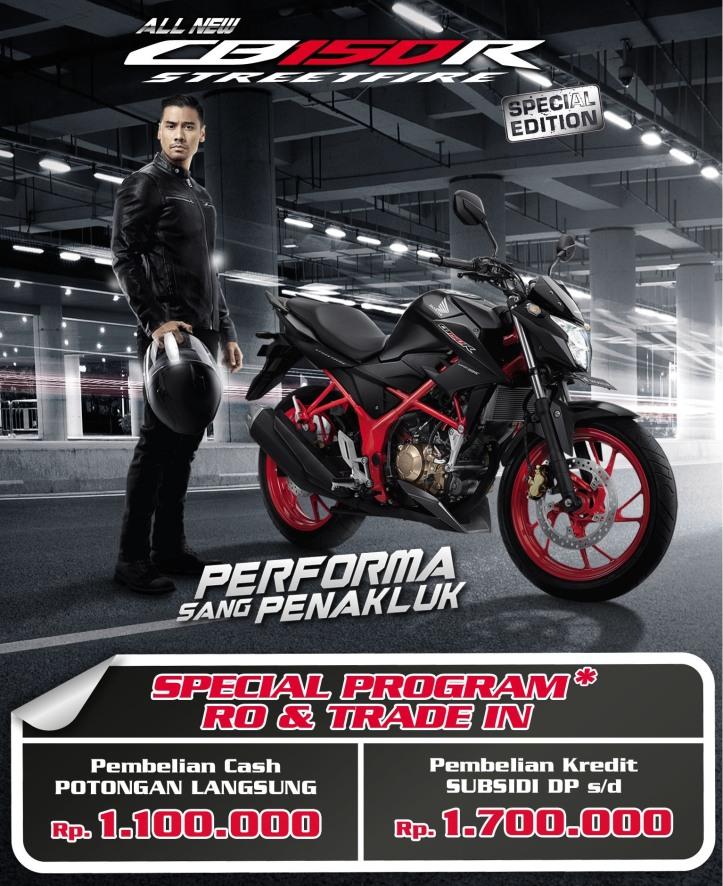 New Honda CB150R Facelift Trade In