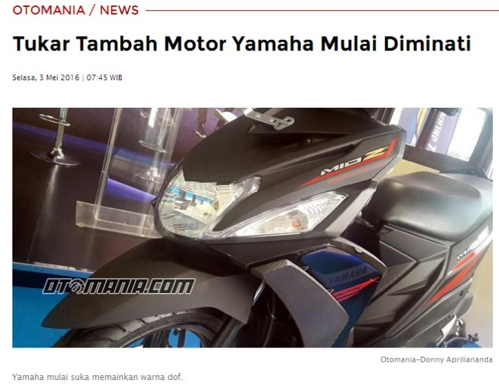 Yamaha Mio Z Trade In