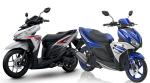 New Honda Vario 125 eSP vs Yamaha Aerox 125