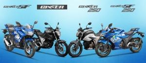 SUZUKI GIXXER 150 - 250 INDIA