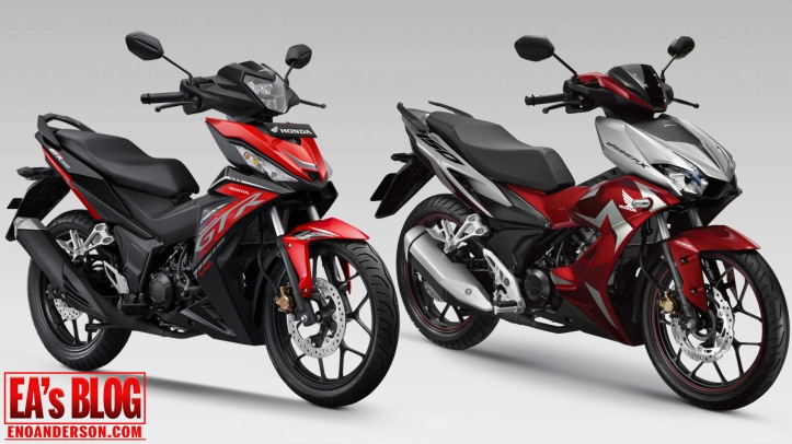 Honda Supra GTR150 Facelift Indonesia vs Honda Winner-X 150 Vietnam