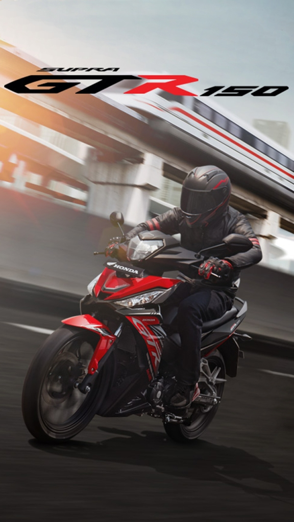 Honda Supra GTR150 Facelift - Wallpaper