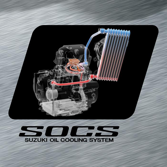 Suzuki Oil Cooling System - SOCS - Suzuki Gixxer 250