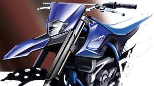 Yamaha WR155R Sketch