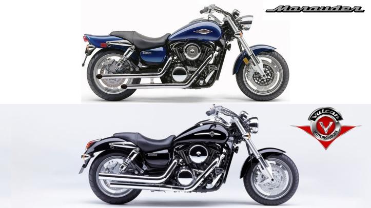 Kawasaki Vulcan 1600 Mean Streak vs Suzuki Marauder 1600