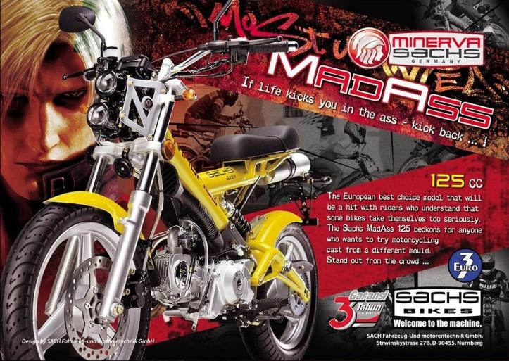 Minerva Sachs MadAss 125