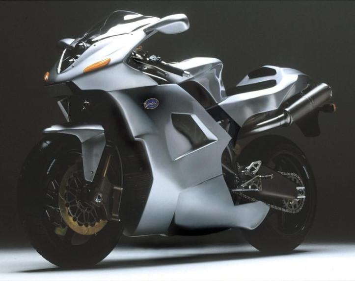 Mondial Piega Concept bermesin Suzuki TL1000S