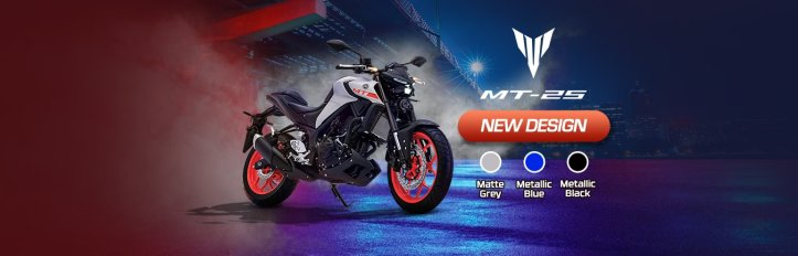 New Yamaha MT-25 Facelift
