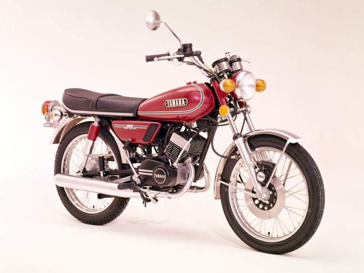 Yamaha RD125 Twin