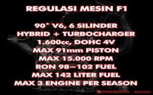 Regulasi Mesin Formula 1