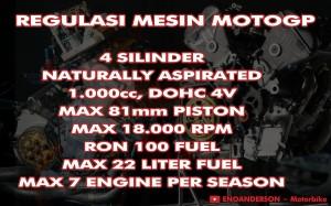 Regulasi Mesin MotoGP